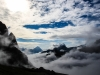 27 üarovnā r†no nad Cortinou-v strede pyram°da Antelao-2.najvyÁÁ° v Dolomitoch