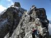 47 jedna z najkrajÁ°ch a najĖahÁ°ch ferratovžch hrebeŚoviek nad 3000m n.m na jeden z vrcholov Cristalla