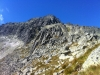 Kežmarská kopa a za ňou Malý Kežmrský štít