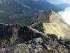 Pohľad zo svahou Malého Kežmarského štítu na Veľkú Svišťovku