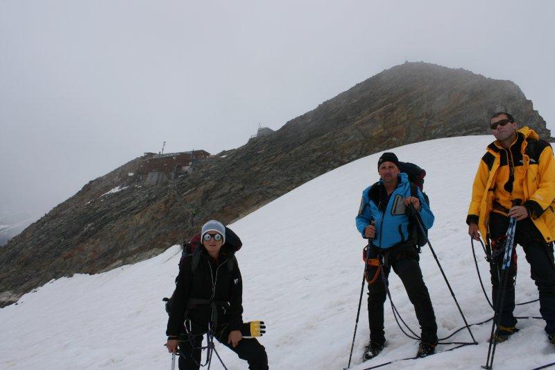 Chata Gnifetti (3470m)