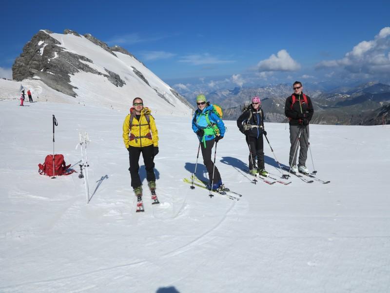 Ževraj v lete na lyžiach :)